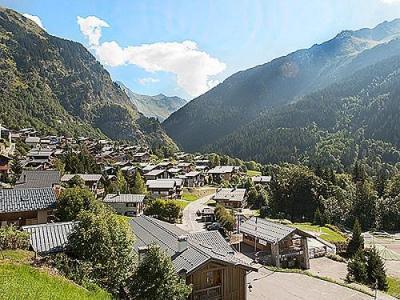 Location au ski Chalet Vieux Moulin - Champagny-en-Vanoise - Extérieur été