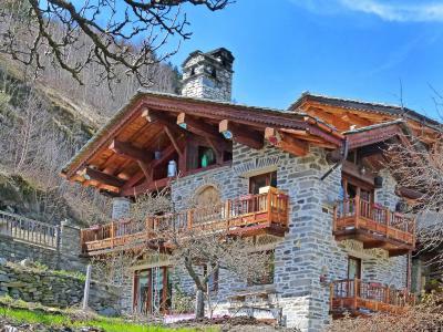 Holiday in mountain resort Chalet Villaroger - Les Arcs - Summer outside