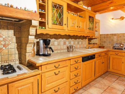 Holiday in mountain resort Chalet Villaroger - Les Arcs - Kitchen