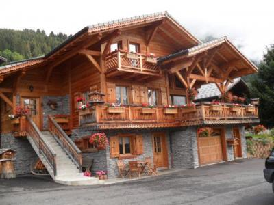 Rent in ski resort Chalet Vuarand Franck - Châtel - Summer outside