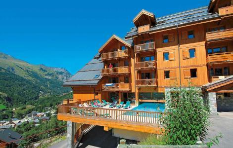 Rent in ski resort Chalets de la Vallée d'Or Edelweiss - Valloire - Summer outside