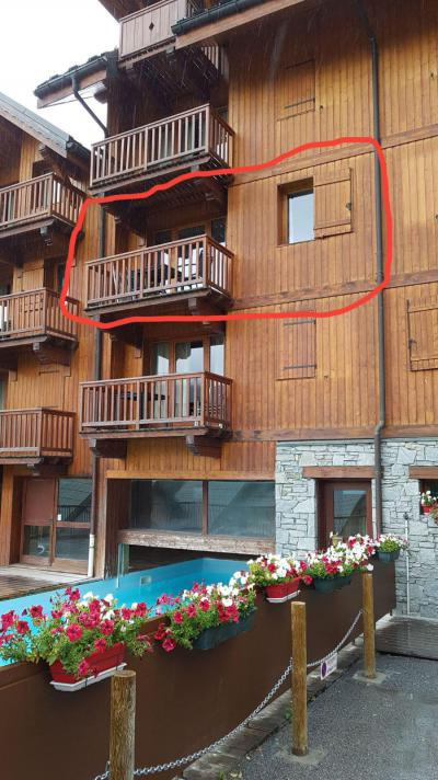 Rent in ski resort 2 room apartment 4 people (202) - Chalets de la Vallée d'Or Edelweiss - Valloire - Summer outside