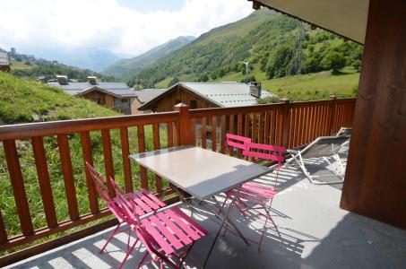 Vacances en montagne Appartement 4 pièces 6 personnes (B4) - Chalets du Doron - Les Menuires - Extérieur été