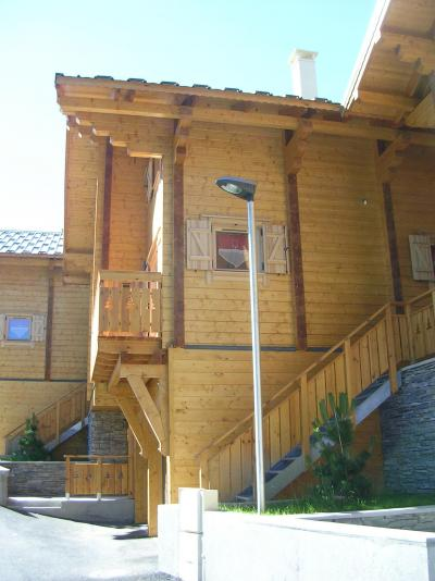 Holiday in mountain resort 6 room chalet 10 people - Chalets Hameau des Cîmes - La Joue du Loup - Summer outside