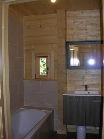 Holiday in mountain resort 6 room chalet 10 people - Chalets Hameau des Cîmes - La Joue du Loup - Bathroom