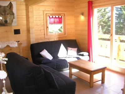 Holiday in mountain resort 6 room chalet 10 people - Chalets Hameau des Cîmes - La Joue du Loup - Living room