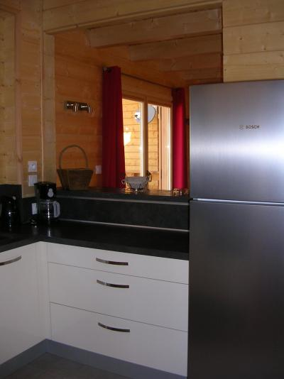 Holiday in mountain resort 6 room chalet 10 people - Chalets Hameau des Cîmes - La Joue du Loup - Open-plan kitchen