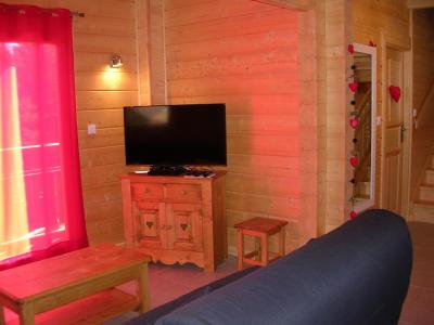 Holiday in mountain resort 6 room chalet 10 people - Chalets Hameau des Cîmes - La Joue du Loup - TV