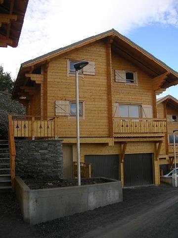 Location au ski Chalets Hameau Des Cimes - La Joue du Loup - Extérieur été