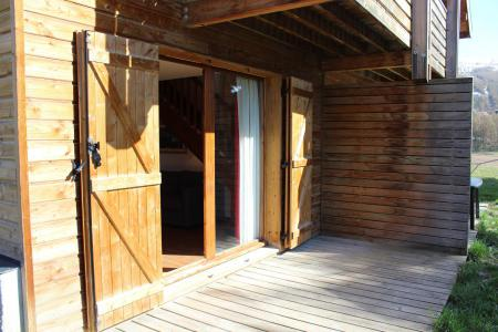 Rent in ski resort Semi-detached 4 room chalet 8 people (N1) - Chalets la Crête du Berger - La Joue du Loup - Summer outside