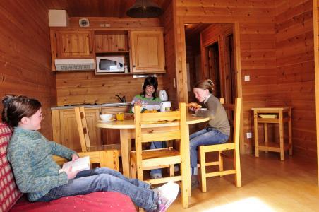 Urlaub in den Bergen Chalets les Marmottes - Saint Jean d'Arves - Essbereich