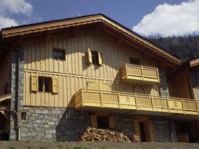 Location au ski Chalet 7 pièces 12 personnes (Eden) - Chalets Les Varcins Luxe - Saint Martin de Belleville - Extérieur été