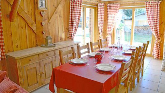 Vacances en montagne Chalets Violettes - Saint Martin de Belleville - Salle à manger
