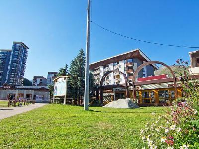 Rent in ski resort 2 room apartment 5 people (1) - Chanteneige la Croisette - Les Menuires - Summer outside