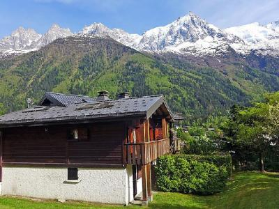 Rent in ski resort 2 room apartment 4 people (1) - Clos des Outannes - Chamonix - Summer outside
