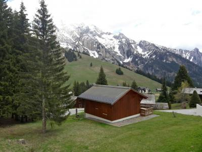 Rent in ski resort 2 room apartment 4 people (7) - Combes Blanche 1 & 2 - La Clusaz - Summer outside