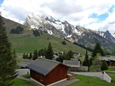 Rent in ski resort 1 room apartment 4 people (8) - Combes Blanche 1 & 2 - La Clusaz - Summer outside