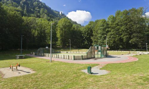 Location au ski Mobil-Home 3 pièces 6 personnes - Domaine La Perriere - Saint Colomban des Villards - Extérieur été