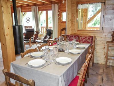 Holiday in mountain resort 5 room chalet 8 people (1) - Du Bulle - Saint Gervais - Accommodation