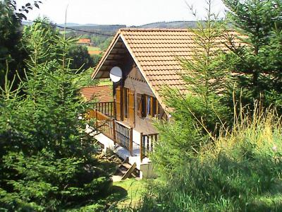 Rent in ski resort 2 room chalet 6 people (1) - Gerbépal - Gérardmer - Summer outside