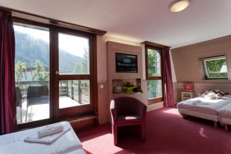 Vacances en montagne Hôtel Club MMV Monte Bianco - Saint Gervais - Porte-fenêtre donnant sur balcon