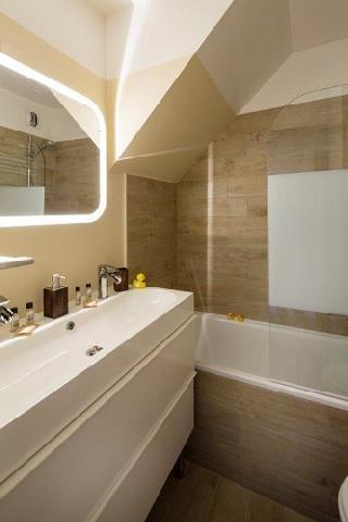 Holiday in mountain resort Hôtel du Bourg - Valmorel - Bath-tub