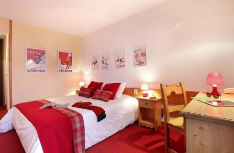 Holiday in mountain resort Comfort Room (1 or 2 persons) - Hôtel du Bourg - Valmorel - Bedroom