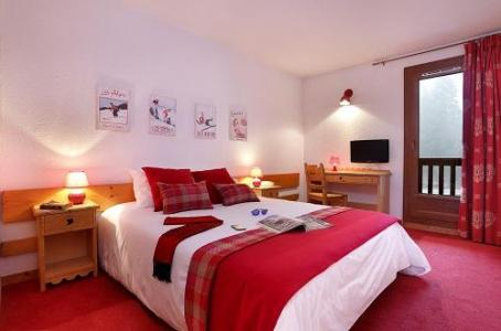 Holiday in mountain resort Comfort Room (1 or 2 persons) - Hôtel du Bourg - Valmorel - Double bed