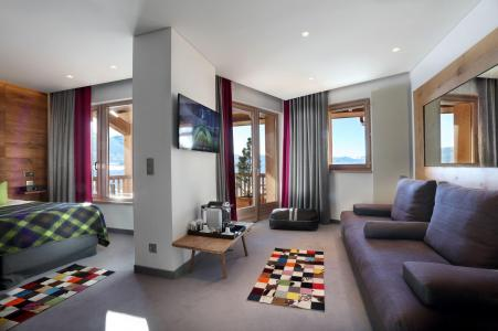 Holiday in mountain resort Junior Suite (2 people) - Hôtel le Pashmina - Val Thorens - Bed-settee
