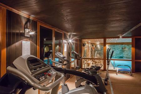 Vacances en montagne Hôtel les Balcons Village - La Plagne - Espace fitness