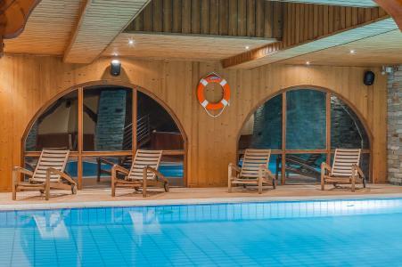 Vacances en montagne Hôtel les Balcons Village - La Plagne - Piscine