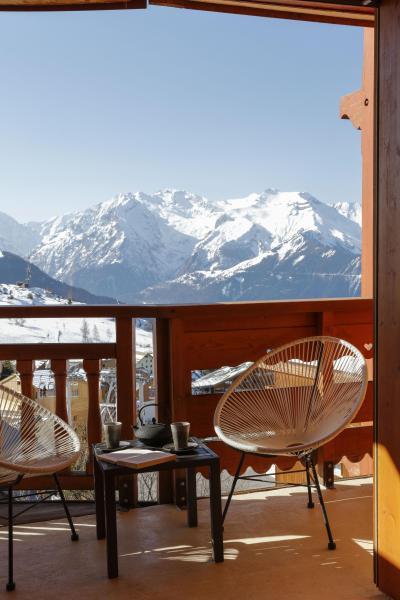 Holiday in mountain resort Hôtel les Grandes Rousses - Alpe d'Huez - Balcony
