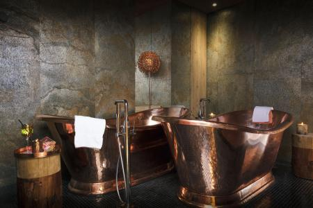 Holiday in mountain resort Hôtel les Grandes Rousses - Alpe d'Huez - Bathroom