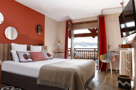 Holiday in mountain resort Hôtel les Grandes Rousses - Alpe d'Huez - Bed