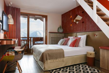 Holiday in mountain resort Hôtel les Grandes Rousses - Alpe d'Huez - Double bed