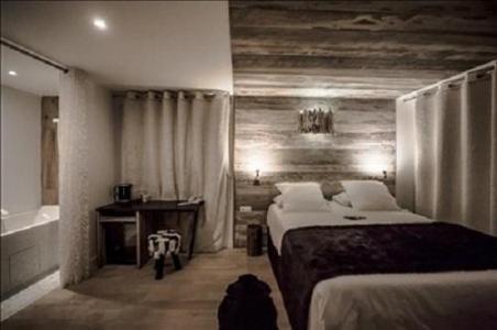 Urlaub in den Bergen Zen Zimmer (2 personen) - Hôtel Rock Noir - Serre Chevalier - Schlafzimmer