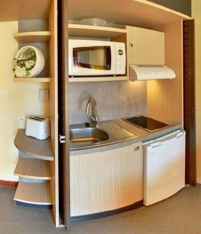 Vacances en montagne Hôtel Suite Home Briançon - Serre Chevalier - Kitchenette