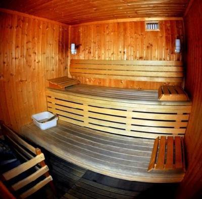 Vacances en montagne Hôtel Suite Home Briançon - Serre Chevalier - Sauna