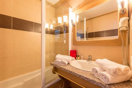 Vacances en montagne Hôtel Vancouver - La Plagne - Baignoire