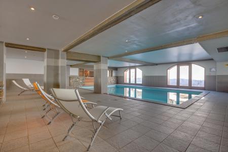 Vacances en montagne Hôtel Vancouver - La Plagne - Piscine
