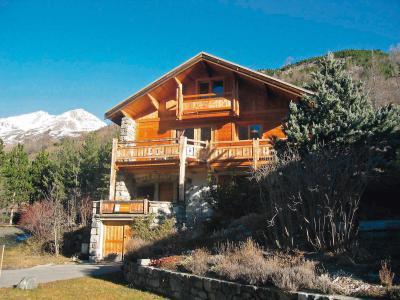Rent in ski resort 5 room chalet 8 people (1) - L'Amandier - Serre Chevalier - Summer outside
