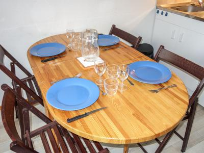 Holiday in mountain resort 1 room apartment 4 people (22) - L'Enclave I et J - Les Contamines-Montjoie - Accommodation