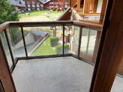 Rent in ski resort 1 room apartment 4 people (14) - L'Enclave I et J - Les Contamines-Montjoie - Summer outside