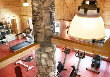 Vacances en montagne L'Orée des Cimes - Peisey-Vallandry - Espace fitness