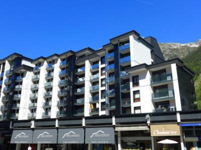 Holiday in mountain resort 2 room apartment 4 people (1) - L'Outa - Chamonix - Summer outside