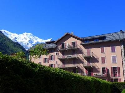 Rent in ski resort 2 room apartment 4 people (3) - L'Univers - Chamonix - Summer outside