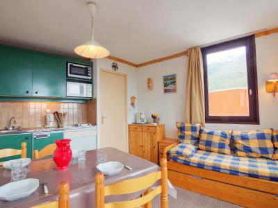 Holiday in mountain resort 1 room apartment 4 people (1) - La Boédette - Les Menuires - Summer outside