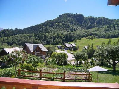 Rent in ski resort 3 room chalet 8 people (1) - La Cascade - Les Bottières - Summer outside