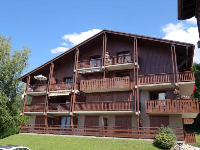 Rent in ski resort 3 room apartment 6 people (5) - La Coupe de Cristal - Saint Gervais - Summer outside