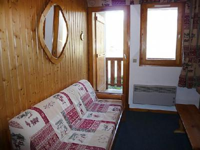 Holiday in mountain resort 2 room apartment cabin 6 people (6) - La Divaria - Tignes - Living room